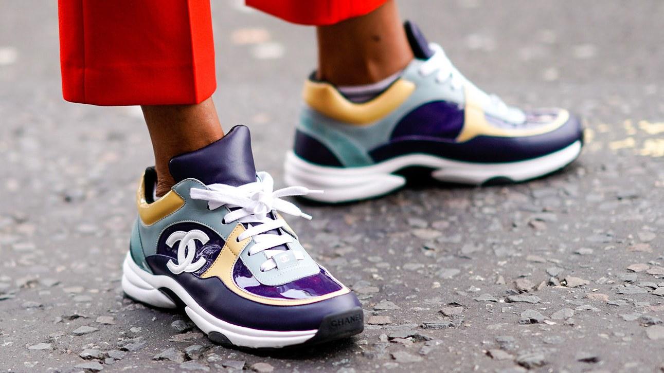 Sneakers för löpare